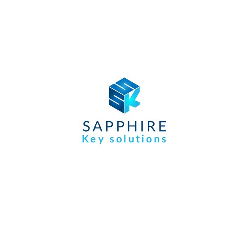 Logo design for Sapphire Key Solutions