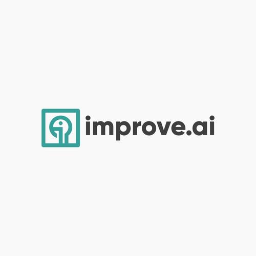 Friendly Logo for AI Service