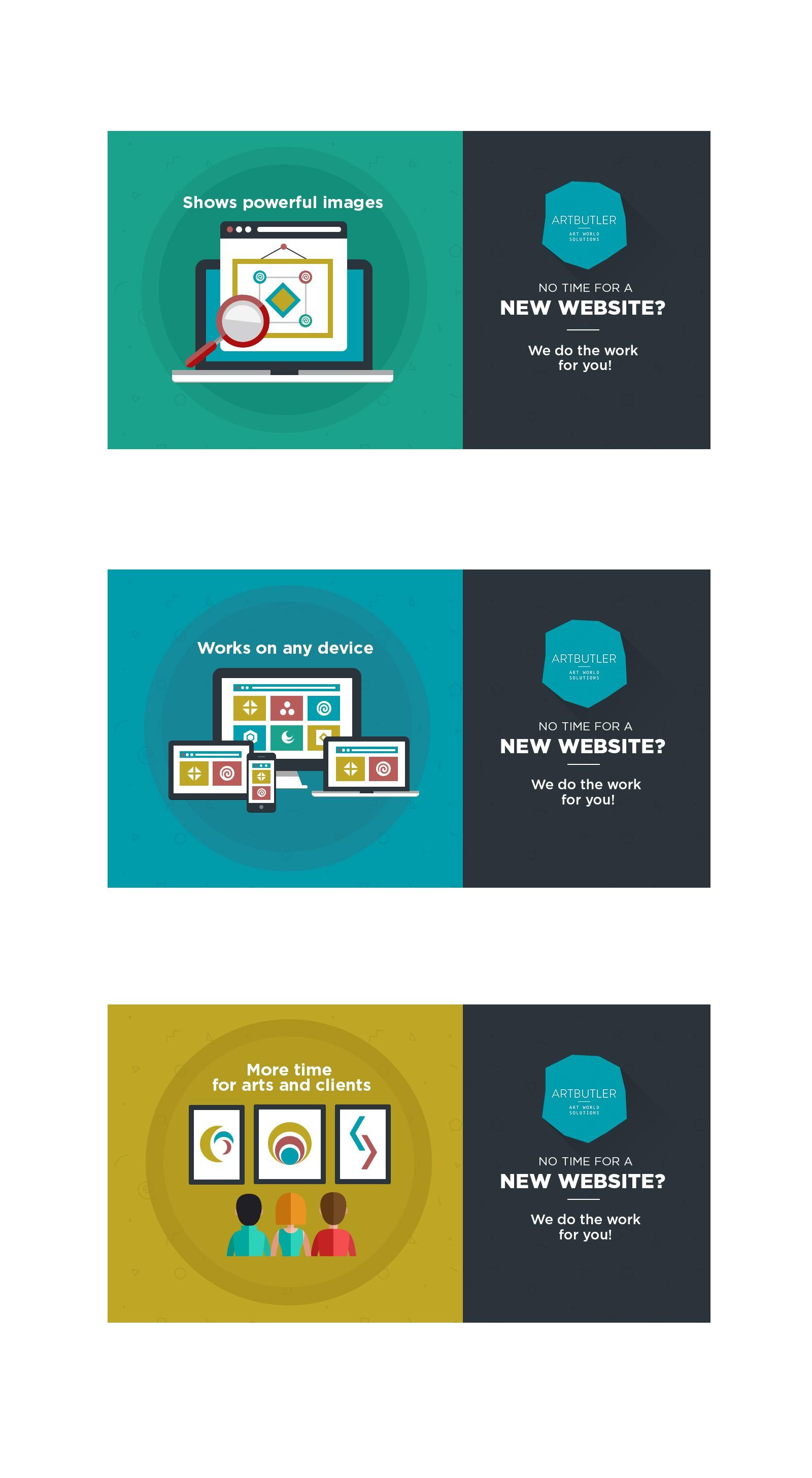 Software-Unternehmen für den Kunstmarkt braucht Facebook-Anzeigebilder