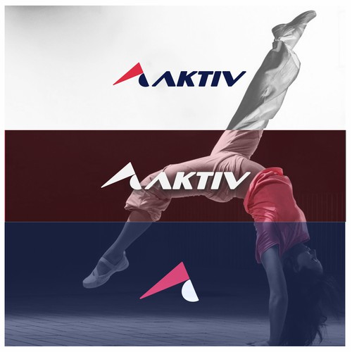 aktiv sports wear logo proposal