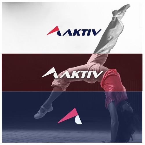 aktiv sports wear logo proposal
