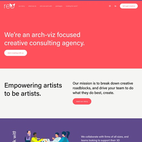 Website Design and Brand Design for Startup