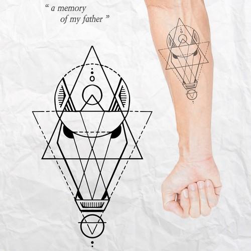 Tattoo design concept