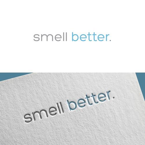 Logo design for Smell Better (commercial air fresheners).