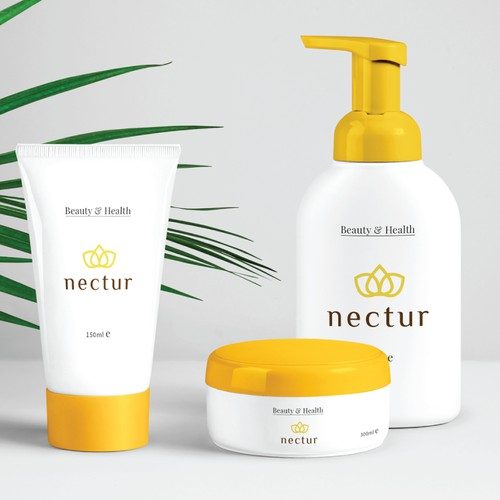 Design concept for men skincare product