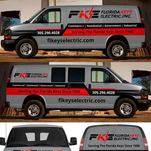 Florida Keys Electric, Inc car wrap