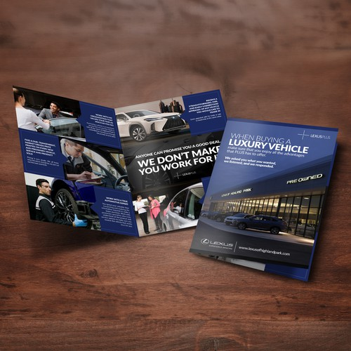 Lexus Of Highland Park (Brochure Design)