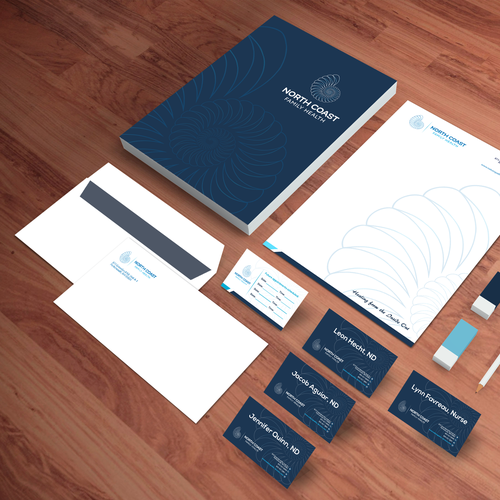 North Coast Stationary design