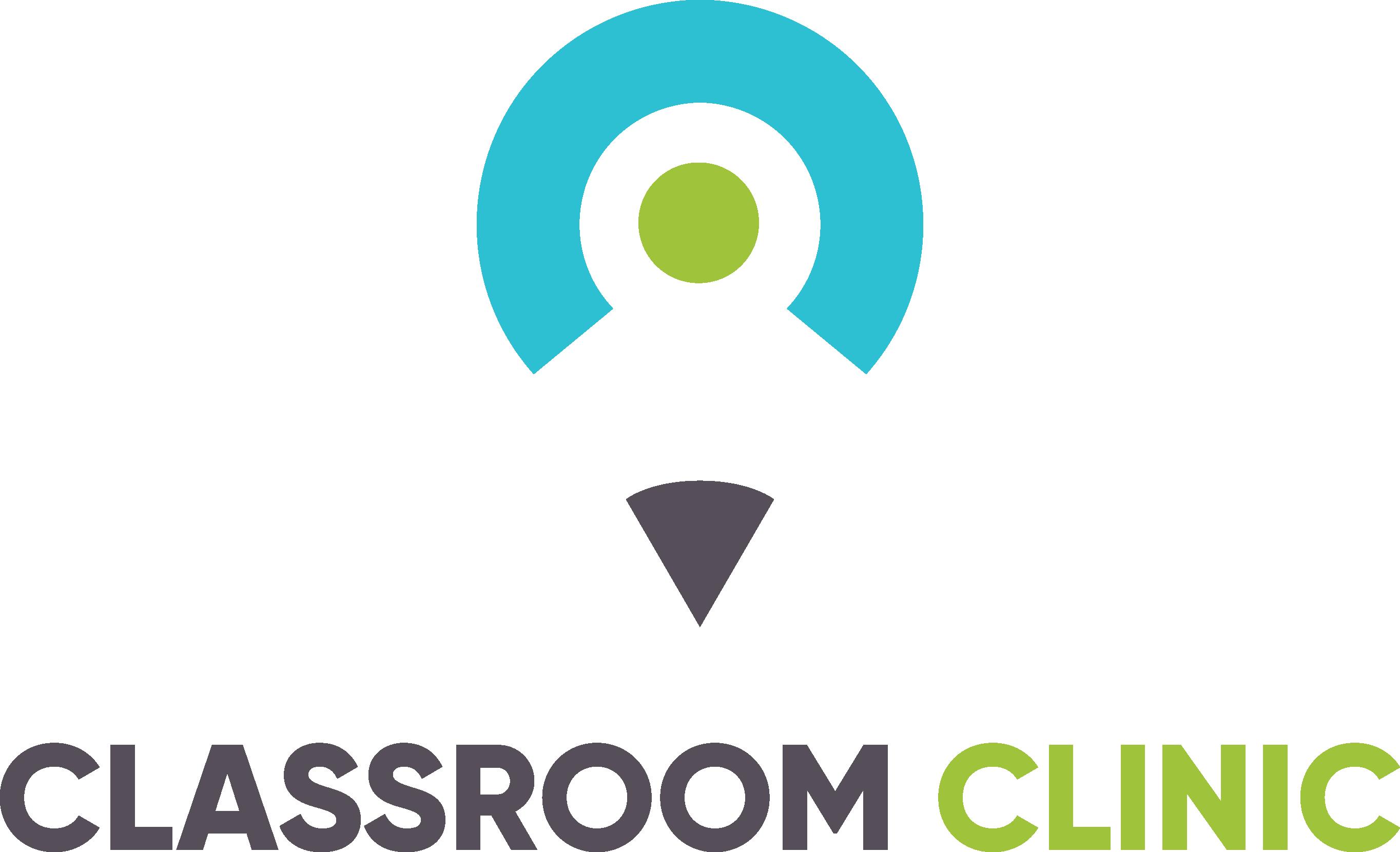 Classroom Clinic's assigned homework--design me a phenomenal logo!