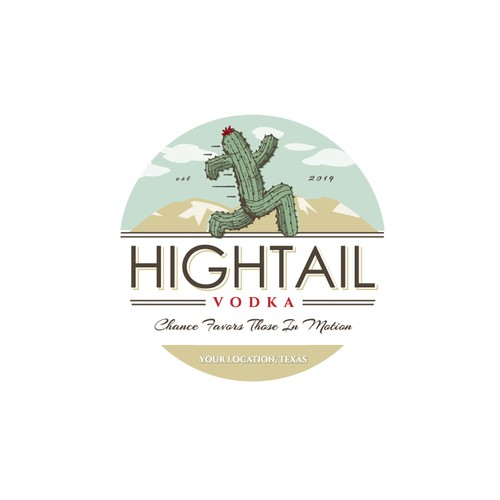 Hightail Vodka Concept -
