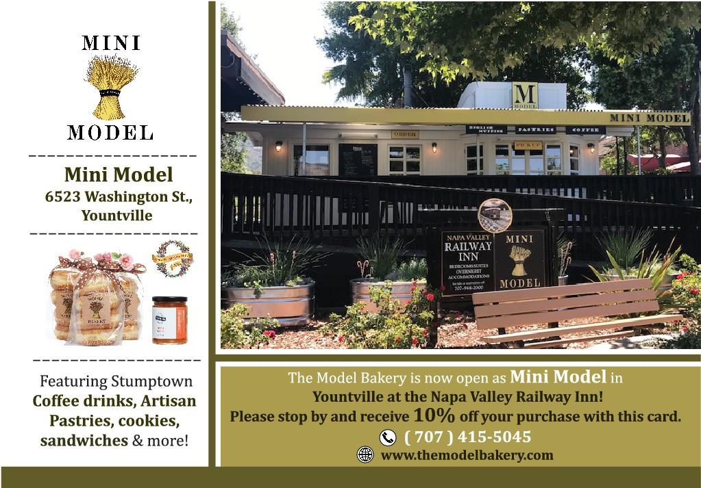 Mini Model Postcard