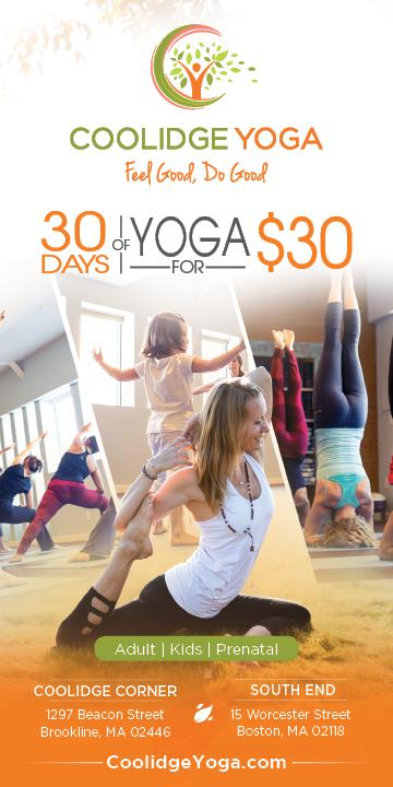 Coolidge Yoga - Ad Redesigns