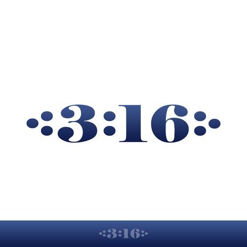 3:16 logo