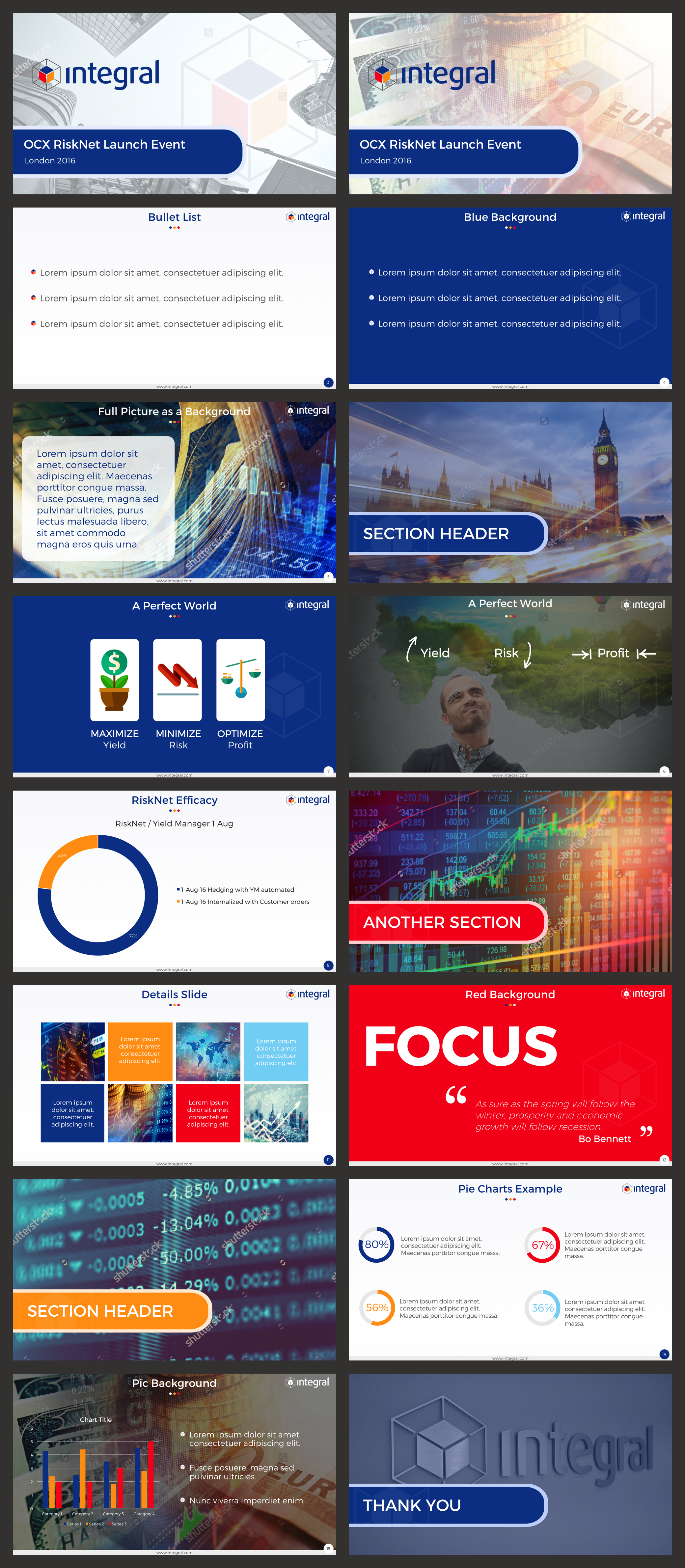 PPT Template and content design
