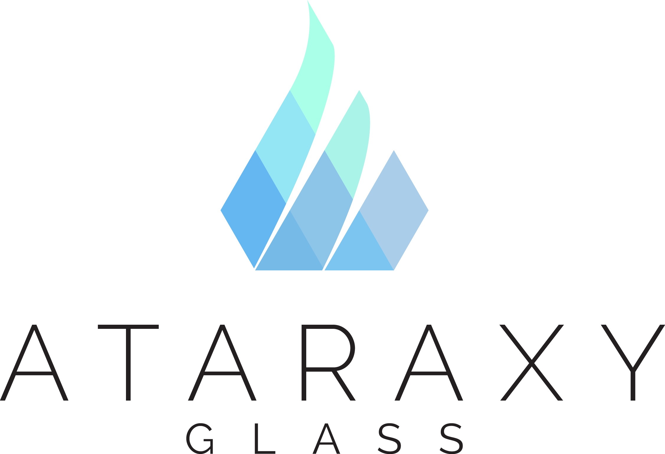 Logo for a Flame-working & Glass mosaic Artist
