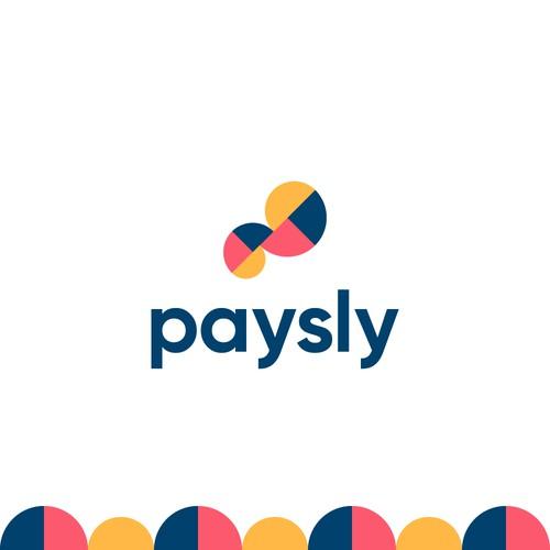 Modern Paisley Logo for Paysly Company