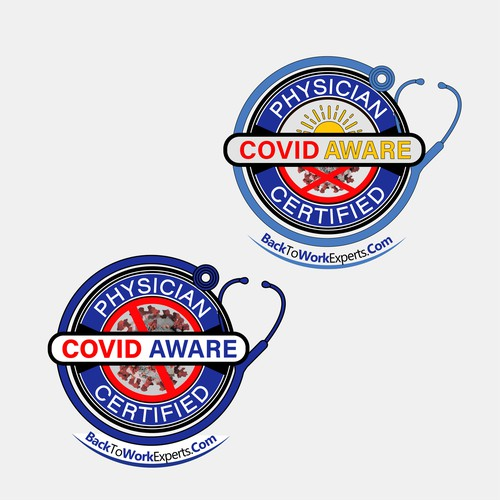 Logotype COVID AWARE