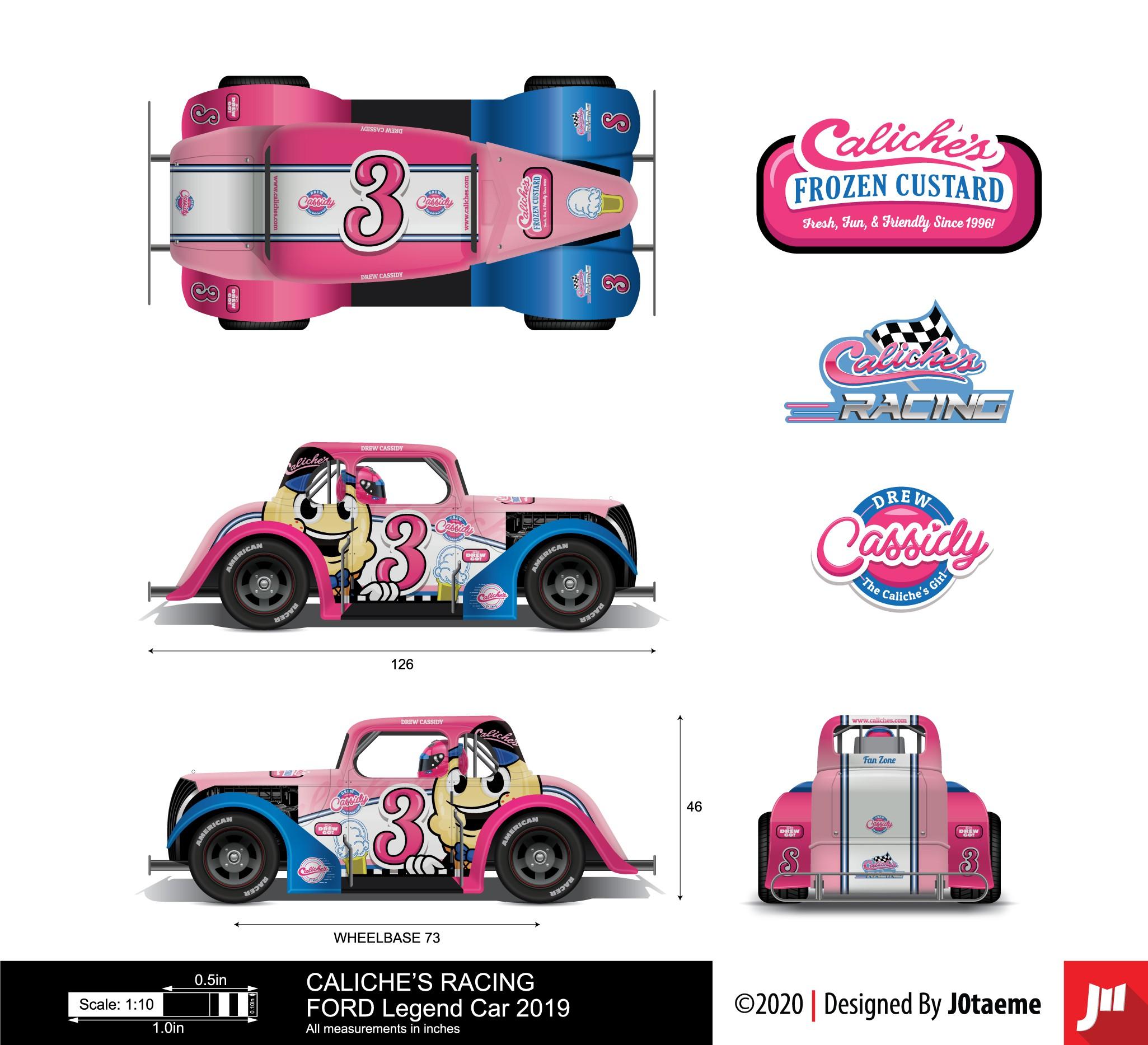 Design a wrap for a RACE CAR!!