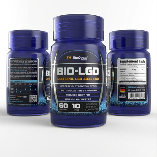 Label for Dietary Supplement