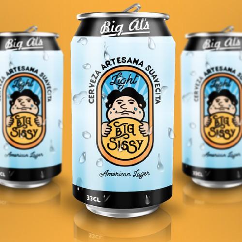 Big Sissy Light beer