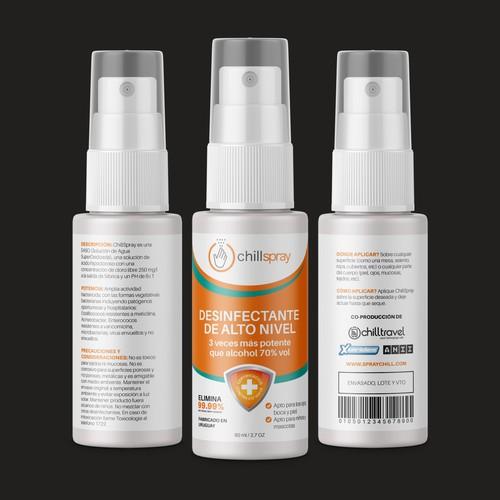 Antiseptic Spray Bottle