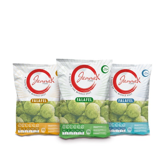 Re-brand our food packaging range!