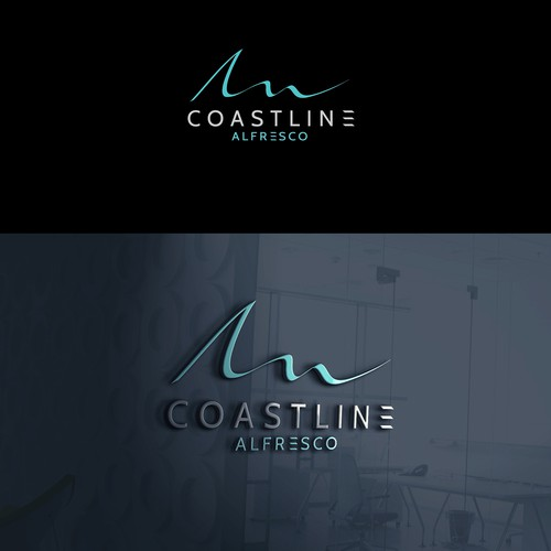 Logo design for Coastline Alfresco
