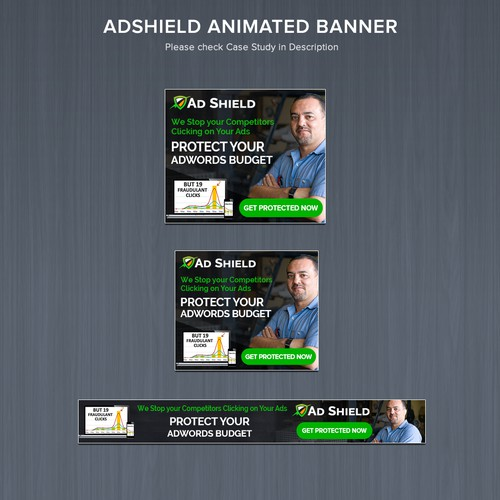 AdShield Animated Banner ads