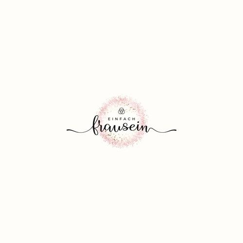 Logo Design Einfach Frau Sein