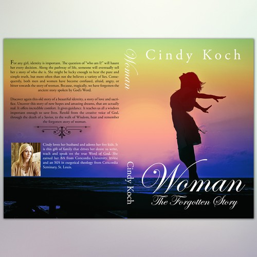 """Book Cover Concept for """"Woman - The Forgotten Story"""""""