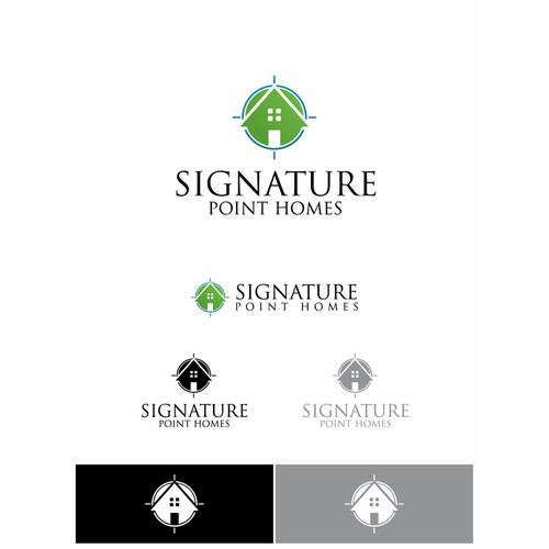 Create the next logo for Signature Point Homes