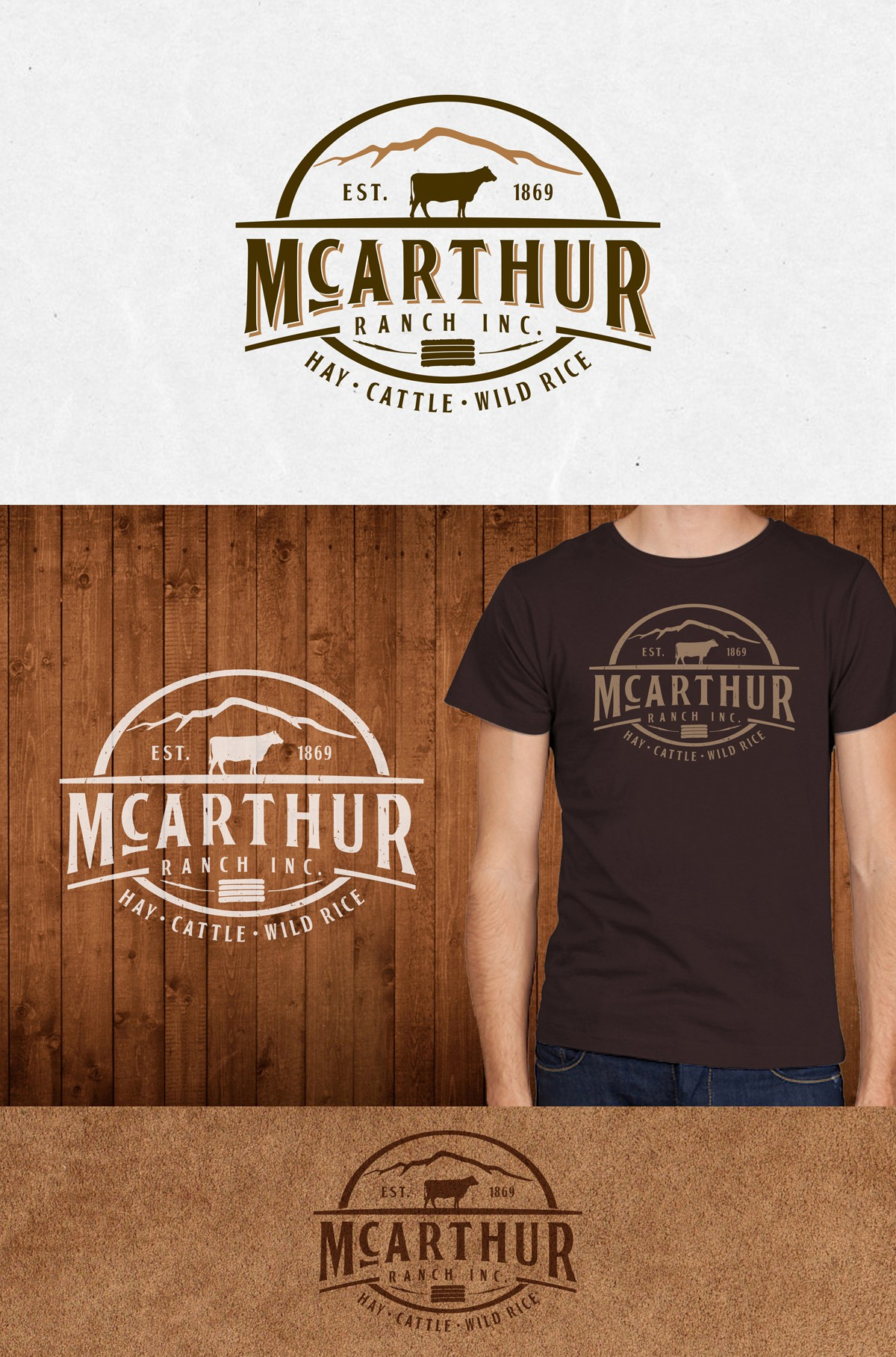 New logo wanted for McArthur Ranch Inc.