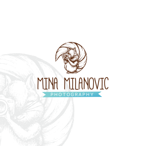 handdrawn ilustration for Mina Milanovic Photography