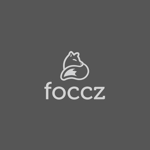 Minimalist fox logo for Website
