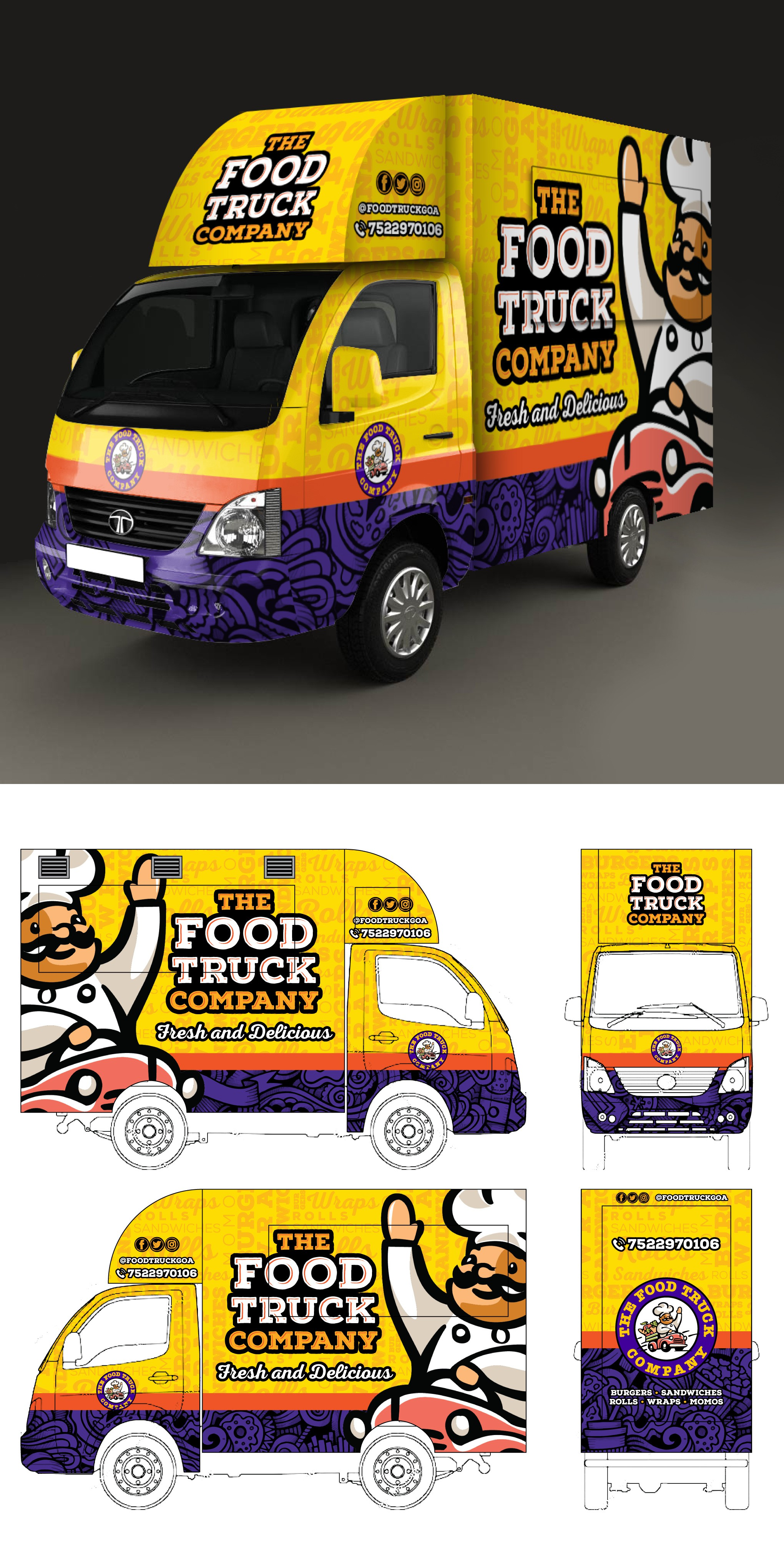 Need the Greatest Food Truck Design EVER!!