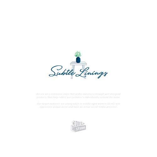 Logo design for a home decor company