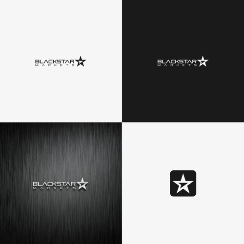 Blackstar Markets needs stylish and modern new logo.