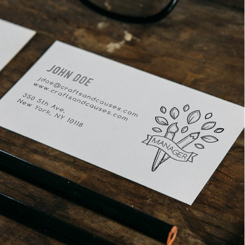 Branding design for a Crafting Company With Niche in Fundraising