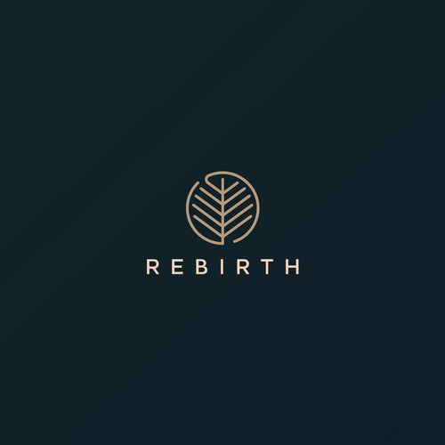 Minimalist logo concept for Rebirth