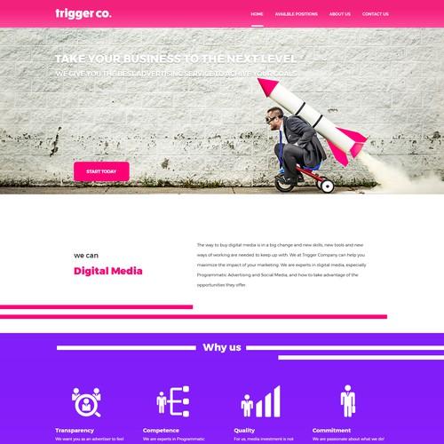 Trigger web design