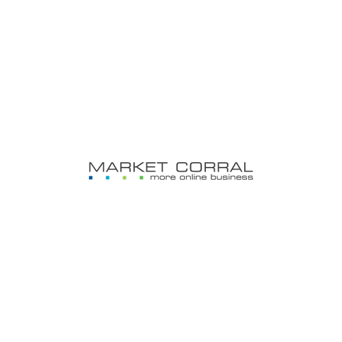 "Create a crisp cool modern logo for our online marketing platform""Market Corral"". We are a tech company and need a uniq"