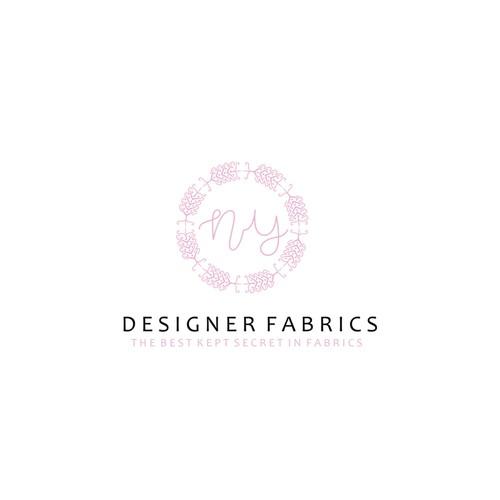 Modern logo for Designer Fabrics