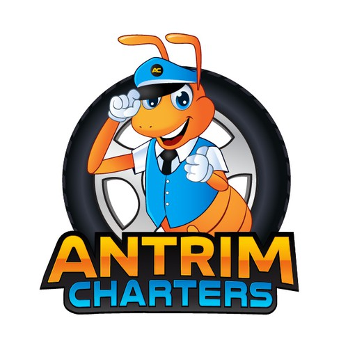 Fun Mascot For Antrim Charters