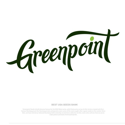 Redesign/Rebranding One of the best USA seeds bank Greenpoint Seeds