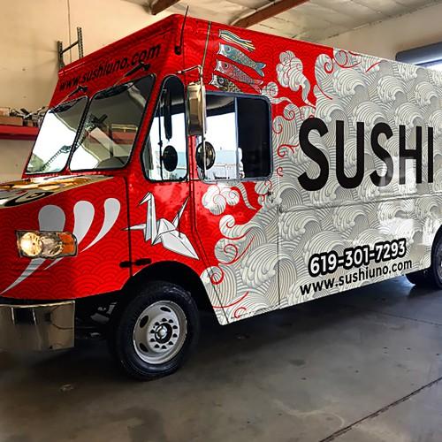 sushi foodtruck