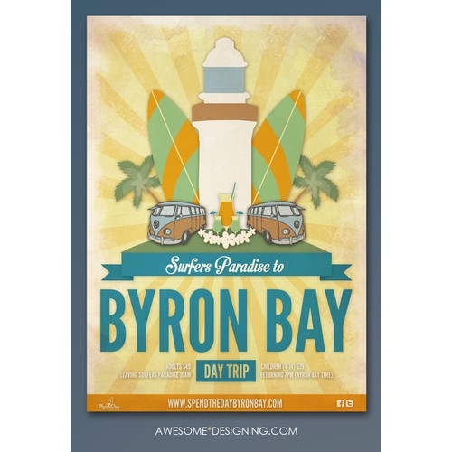 Poster design for Byron Day!