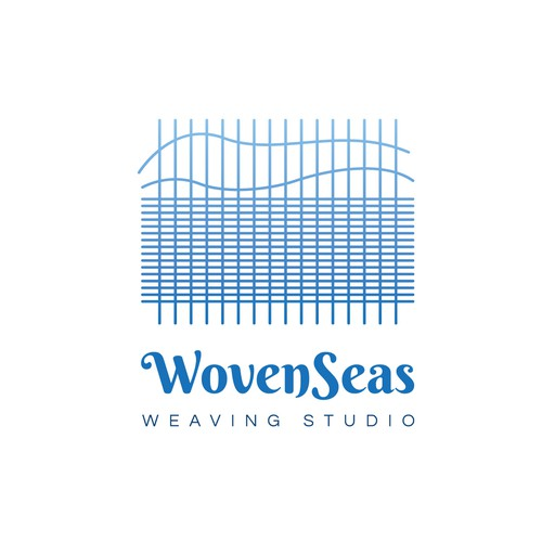 WovenSeas logo design
