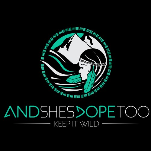create a logo for an active outdoor womens lifestyle brand