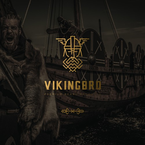 LOGO VikingBro for beard cosmetic brand