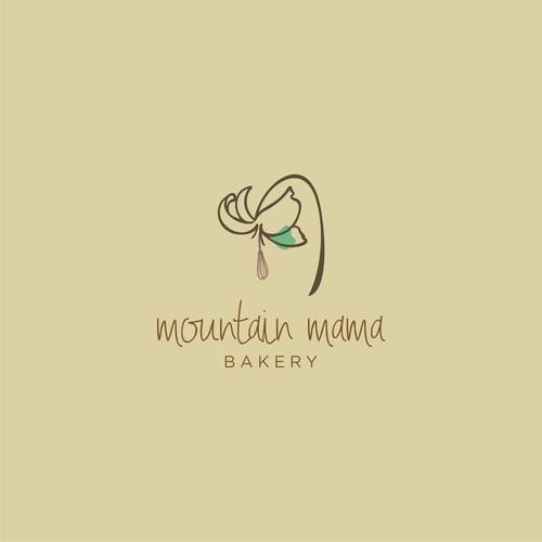 Logo Mountain Mama Bakery